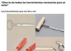 Enlace a Ni siquiera son herramientas, son utensilios