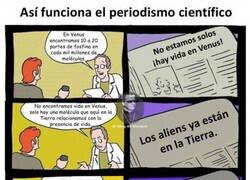Enlace a Periodismo científico