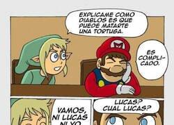 Enlace a Mientras tanto, en una reunión de Nintendo