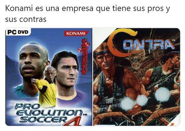 Meme_otros - Konami tiene de todo