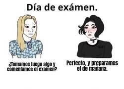 Enlace a Afrontando exámenes