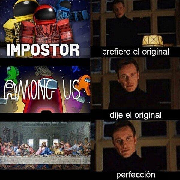 Meme_otros - El primer Among Us de todos