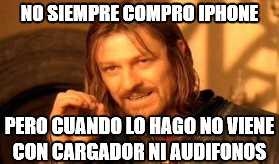 Boromir - iPhone y su
