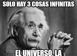 Enlace a Solo hay 3 cosas infinitas