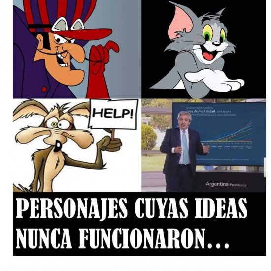 Alberto Fernández,Argentina,malos,presidente,villanos