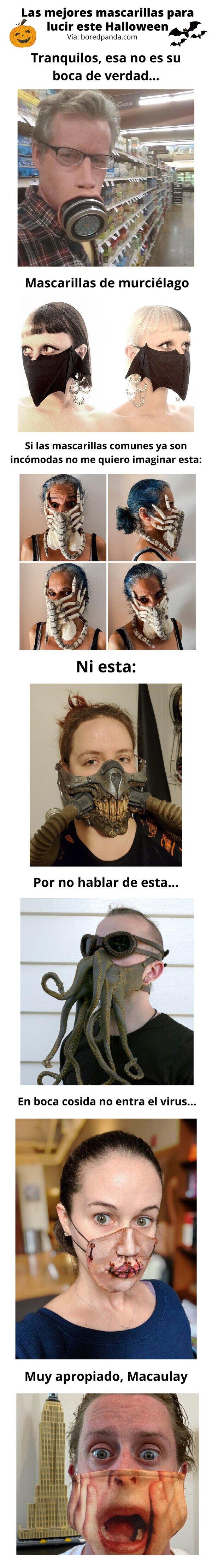 Meme_otros - Las mejores mascarillas para lucir este Halloween