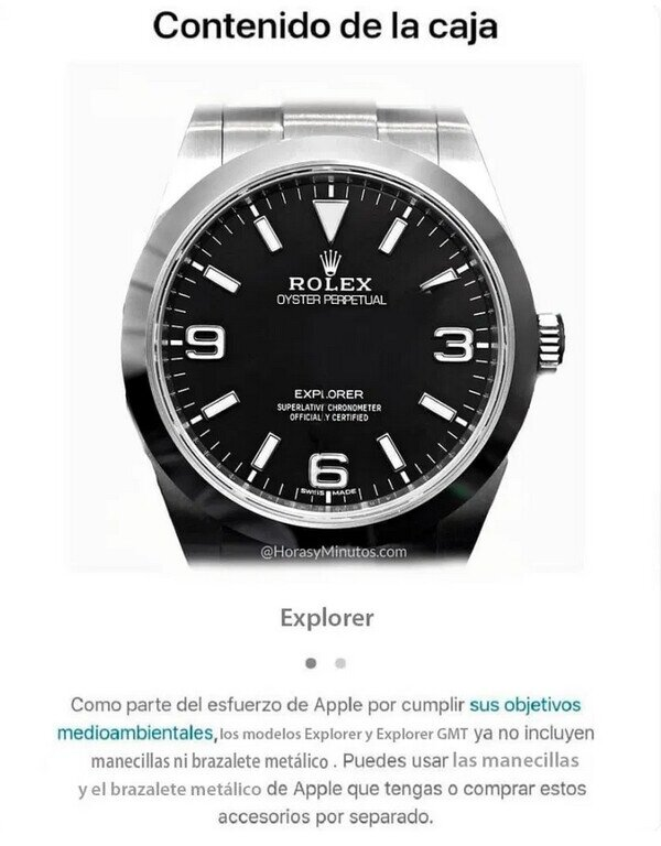 Meme_otros - Si Apple vendiera relojes