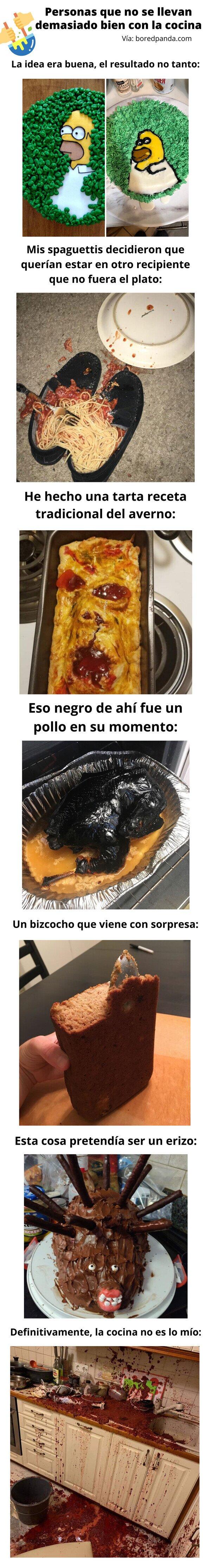 Meme_otros - Personas que no se llevan demasiado bien con la cocina
