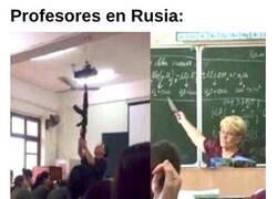 Enlace a En Rusia aprendes a la fuerza