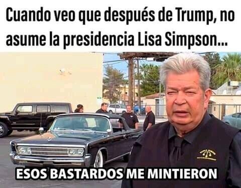 EEUU,lisa,presidente,simpson,Trump
