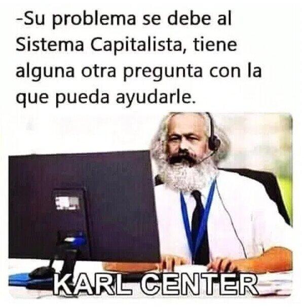 Call center,central,Karl Marx,llamadas