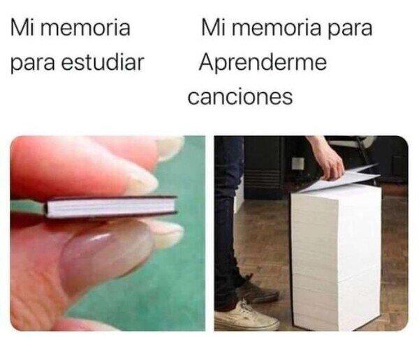 canciones,estudiar,memoria,música,recordar