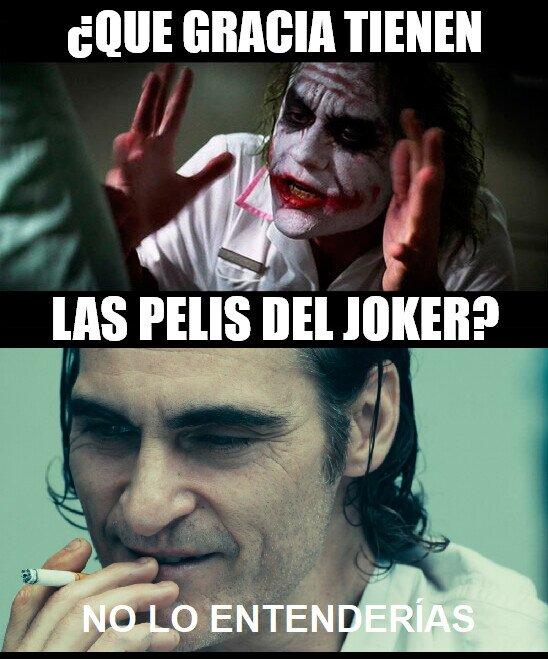 Joker - Las películas de Joker