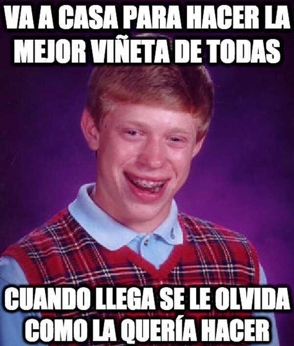Bad_luck_brian - Suele pasar