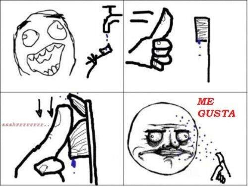 Me_gusta - Algo que todos hemos hecho con el cepillo