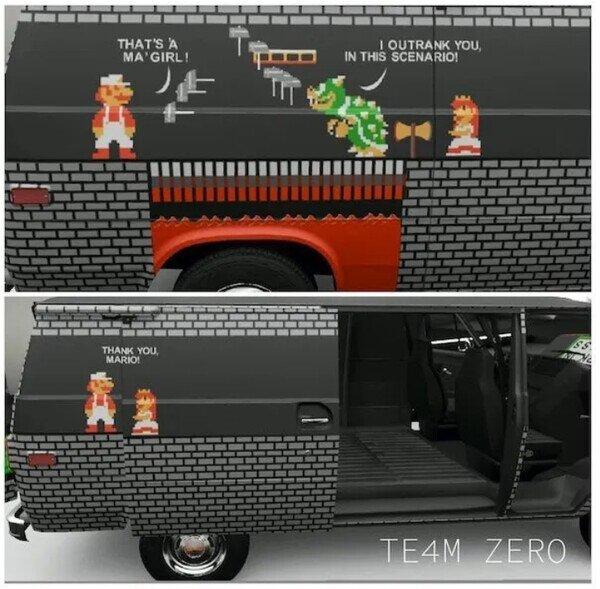 Meme_otros - Ahora quiero una furgoneta para decorarla así