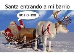 Enlace a No es un barrio seguro, Santa