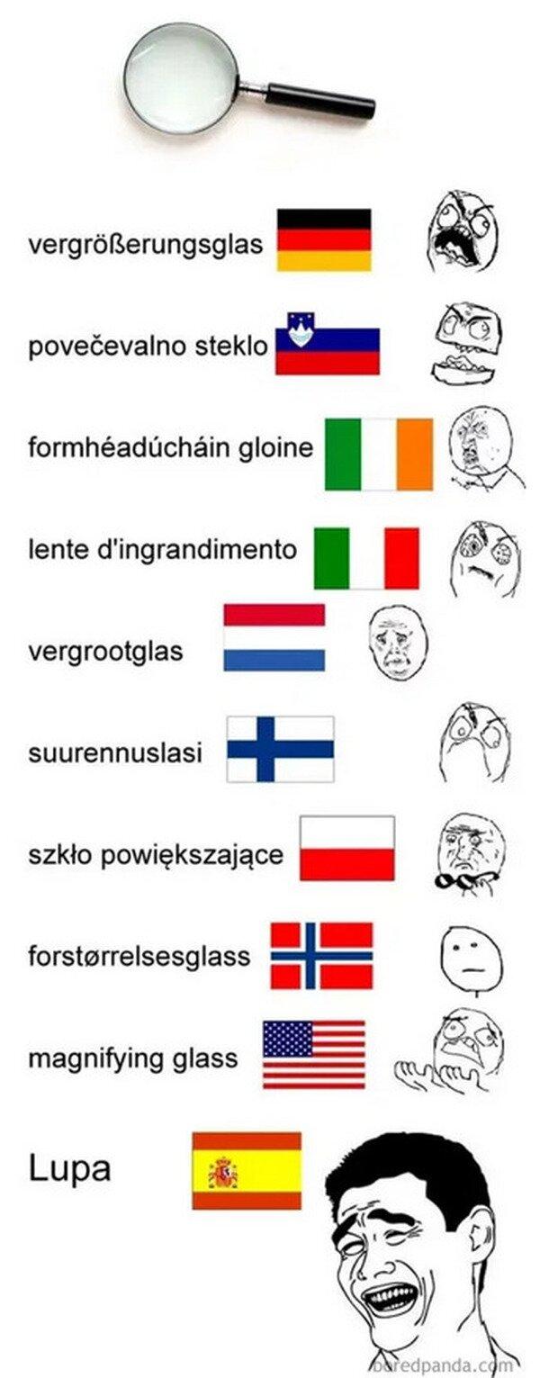 español,idiomas,lupa