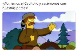 Enlace a Los Simpson lo volvieron a hacer
