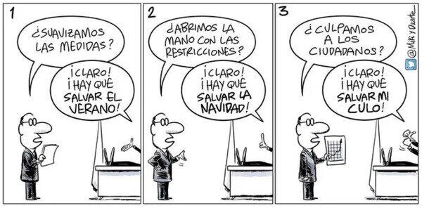 Meme_otros - Así se está gestionando la pandemia en España