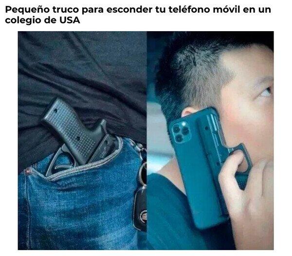 Meme_otros - Cuando quieres que tu teléfono pase desapercibido