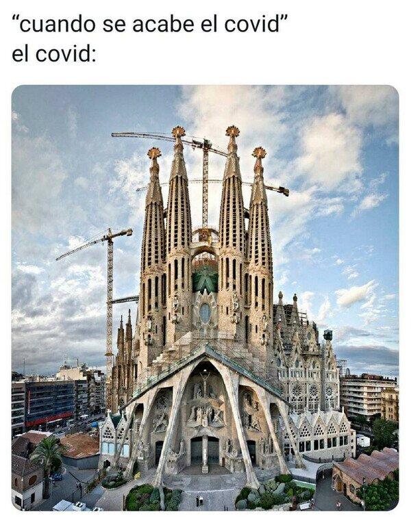 acabar,Barcelona,coronavirus,monumento,pandemia,Sagrada Familia