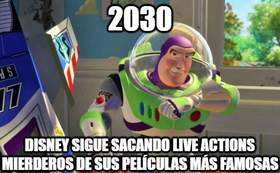 Buzz_lightyear - Disney ya no es original
