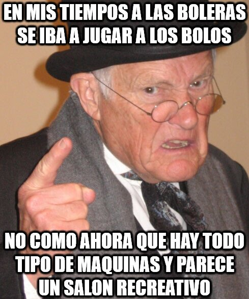 En_mis_tiempos - Boleras