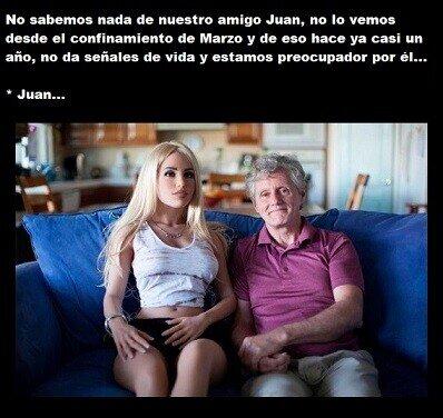 Meme_otros - No preocuparse por Juan, él está muy bien, tiene todo lo que necesita...