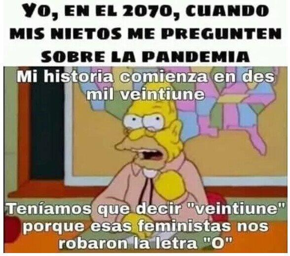 abuelo,feministas,nietos,pandemia