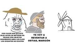 Enlace a El Quijote en meme para que se entienda