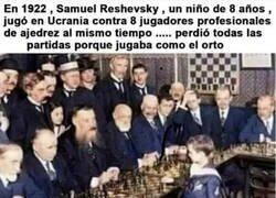 Enlace a Bonita historia ajedrecística