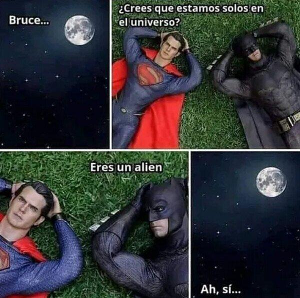 alien,batman,solos,superman,universo