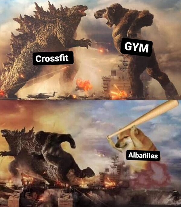 albaíl,crossfit,fuerza,godzilla,gym,kong,trabajo