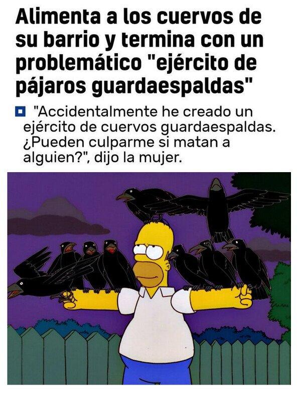 Meme_otros - Todo eso ya ocurrió en Los Simpson
