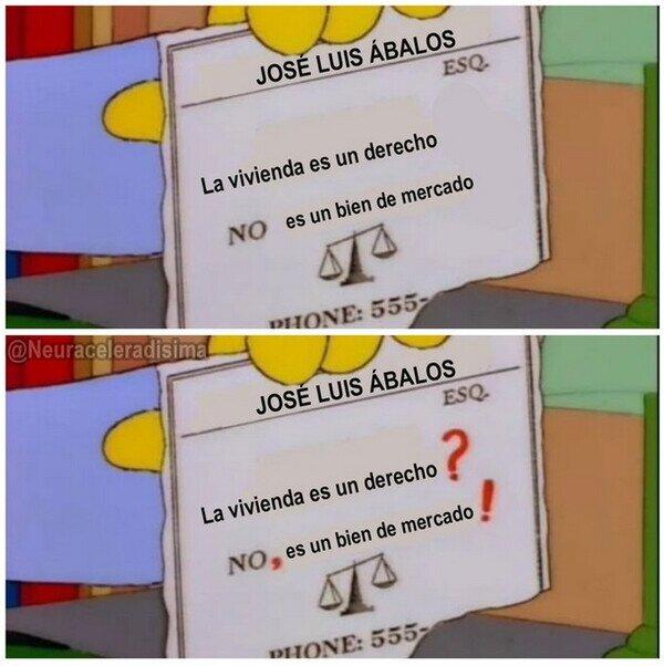 Otros - La carta de presentación de José Luis Ábalos