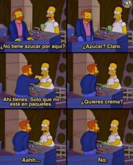 Meme_otros - Ahí Homer estuvo listo