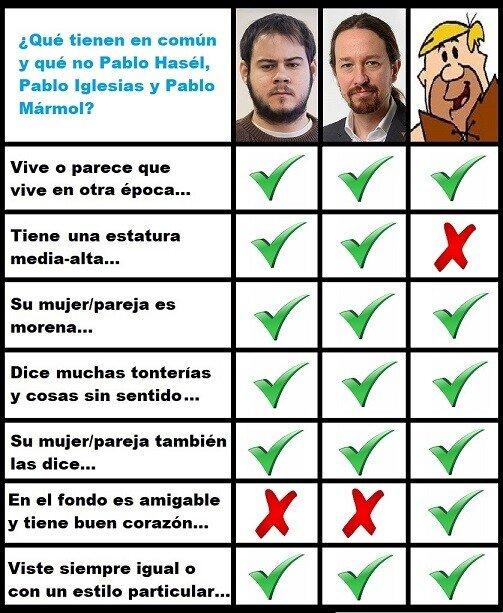 Meme_otros - La cosa va de Pablos...