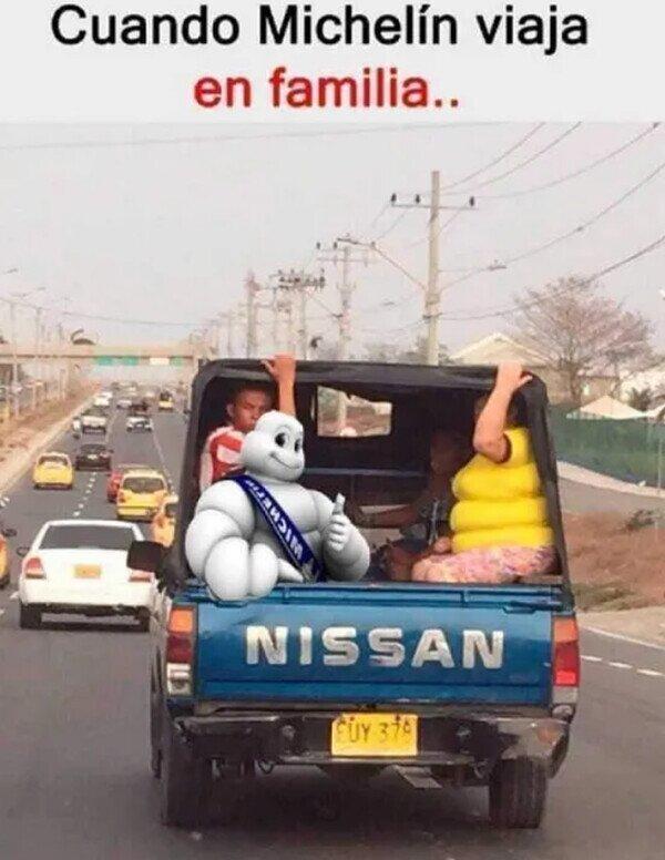 Meme_otros - El viaje familiar de Michelin