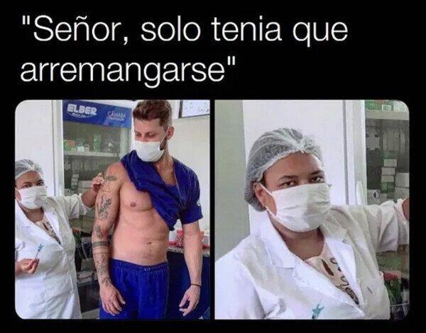 chulo,coronavirus,gym,remangar,vacuna