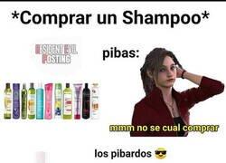 Enlace a Si dice 'shampoo' es suficiente