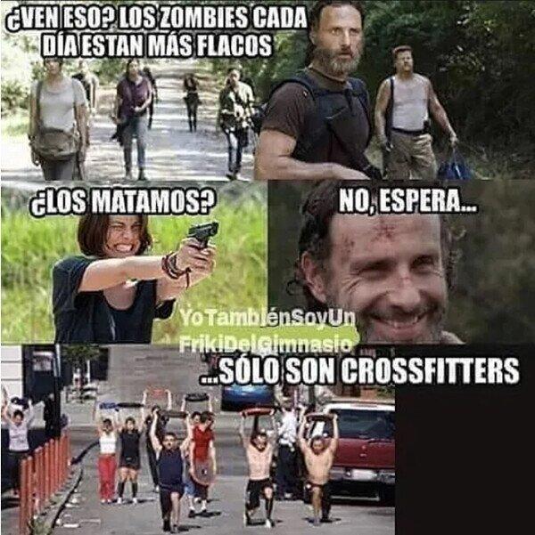 crossfit,The Walking Dead,zombies