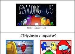 Enlace a Among Us (cómic interactivo)