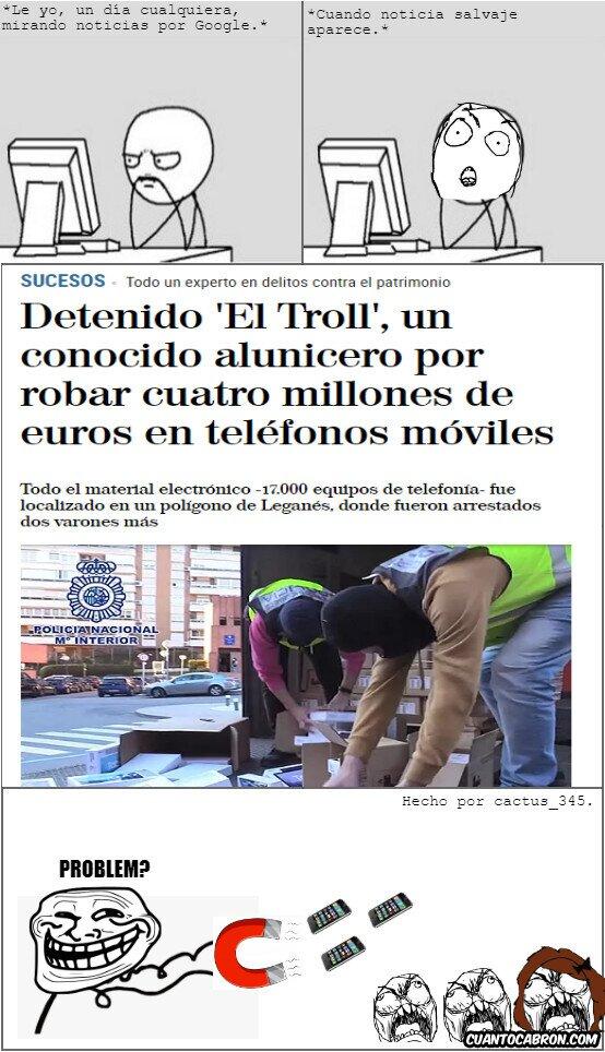 Trollface - El Troll