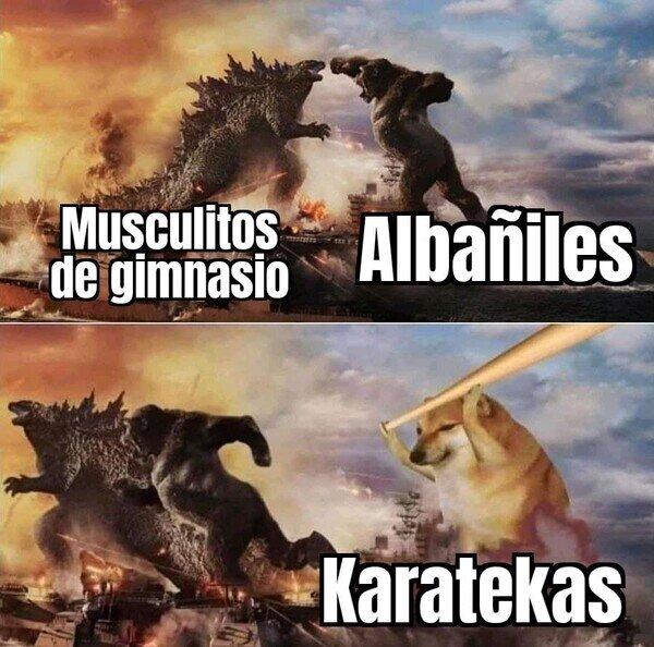 Karate_kyle - Podrían fácilmente con los otros dos