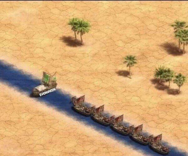 Otros - Descripción gráfica de lo ocurrido en el Canal de Suez