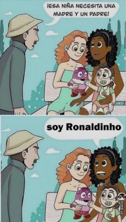 Meme_otros - Pobre Ronnie...