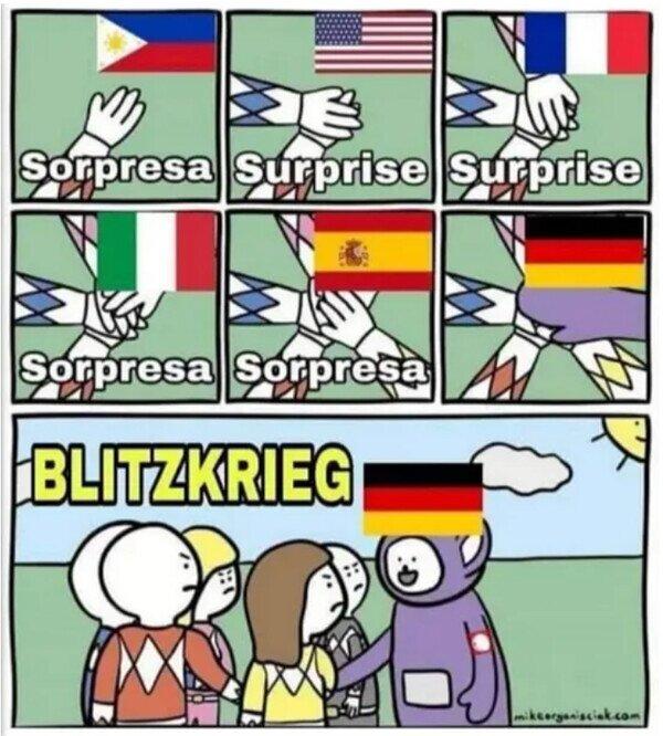 alemán,idiomas,sorpresa