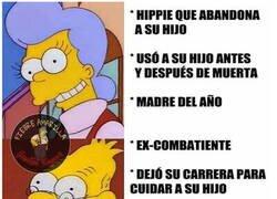 Enlace a Qué injustos son Los Simpson con los padres de Homer