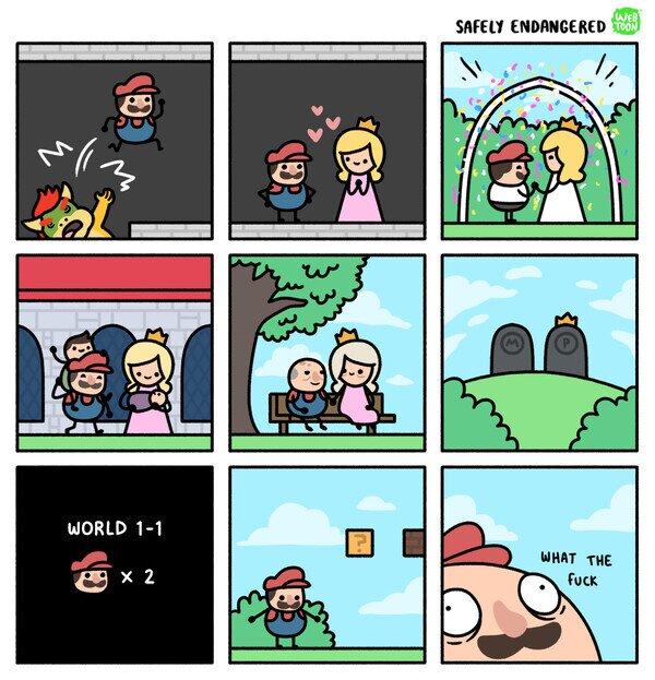 Meme_otros - Cuando Mario muera